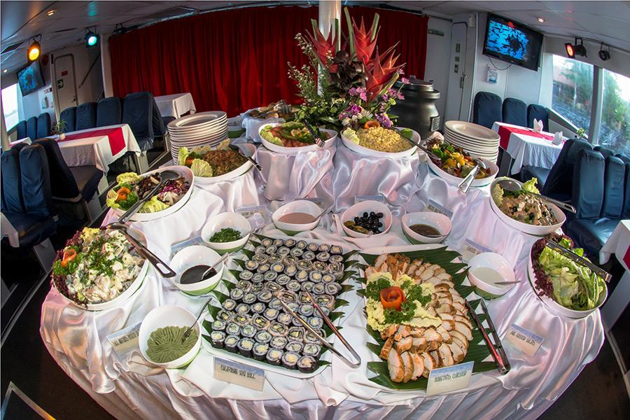 Sunset Dinner Cruise at Bali