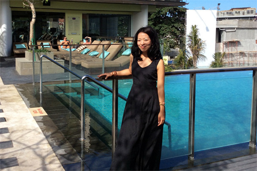 I visited 3 hotels and 9 villas in Bali, in 1 day