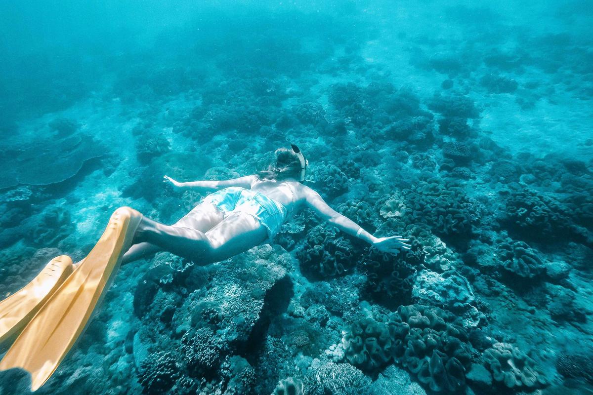Crystal Bay Snorkeling at Penida Island