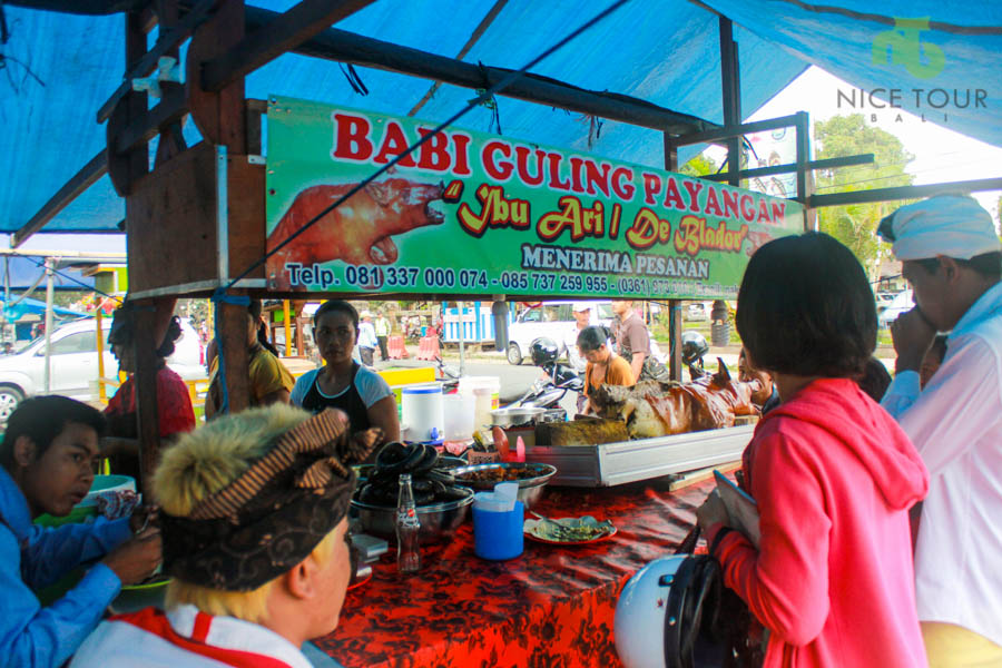 One Day Tour Bali | Shopping and eating in local places in Bali