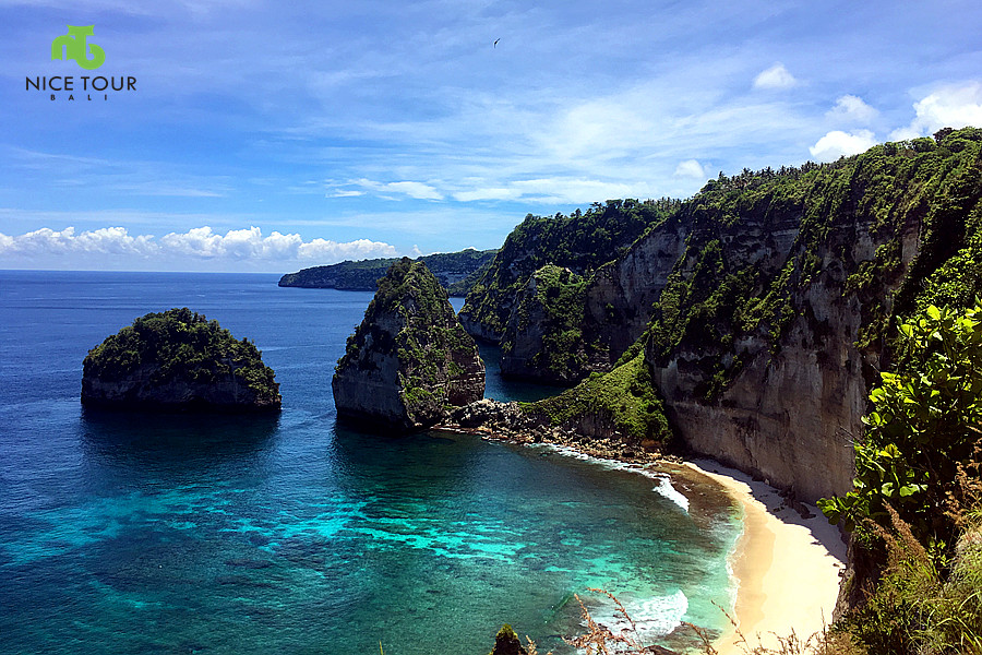 Atuh Beach at Nusa Penida Island Bali