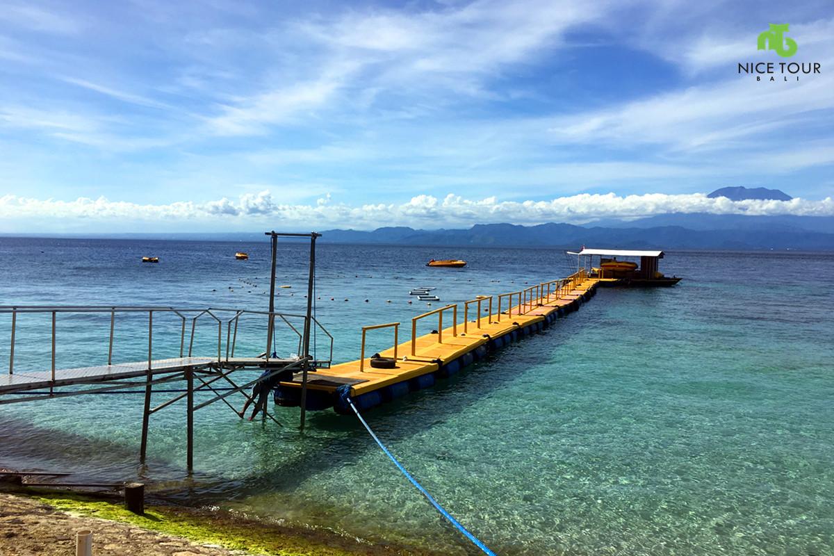 Buyuk Harbour at Nusa Penida Island, Bali