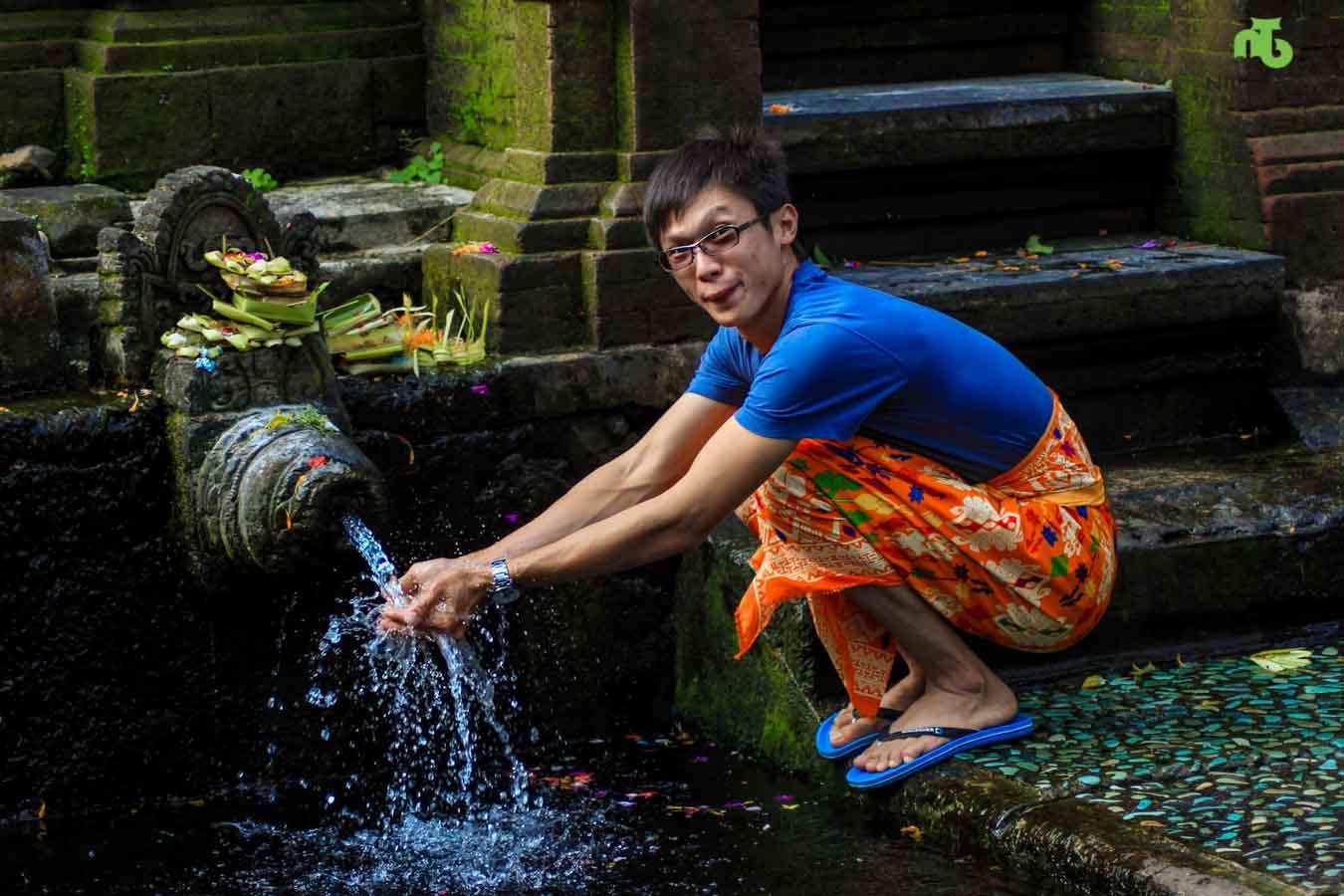 Fresh Water at Tirta Empul Temple