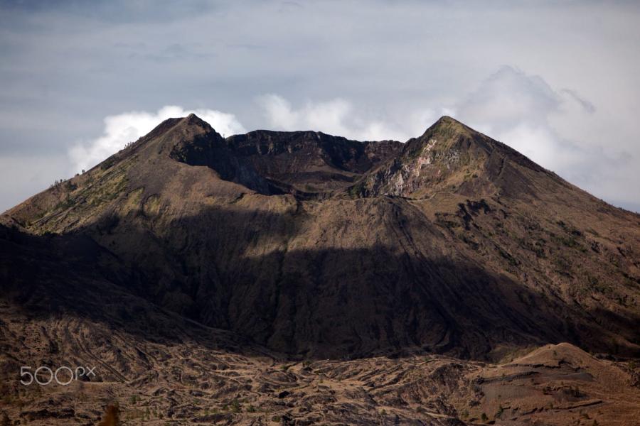 Mt Batur Active Volcano in Bali