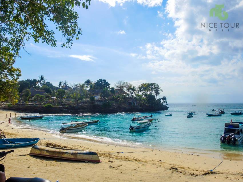 Mushroom Bay at Nusa Lembongan Island, Bali