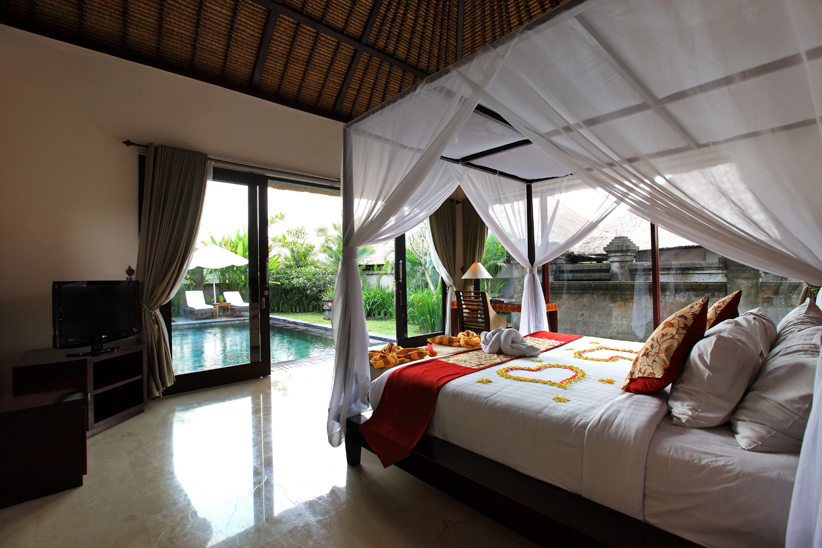 Santi Mandala Villa & Spa - One bedroom luxury pool villa | The room