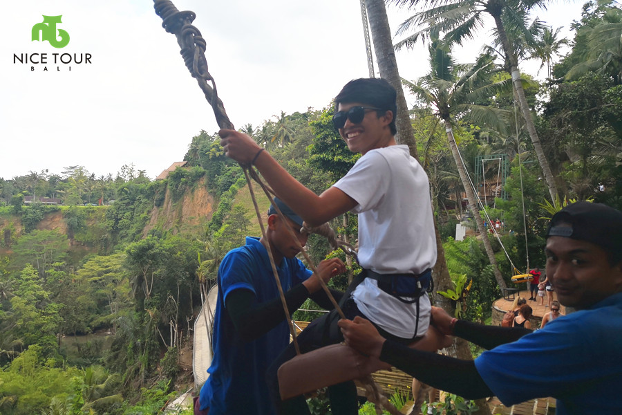 Bali Swing Ubud Tour + Tanah Lot Temple