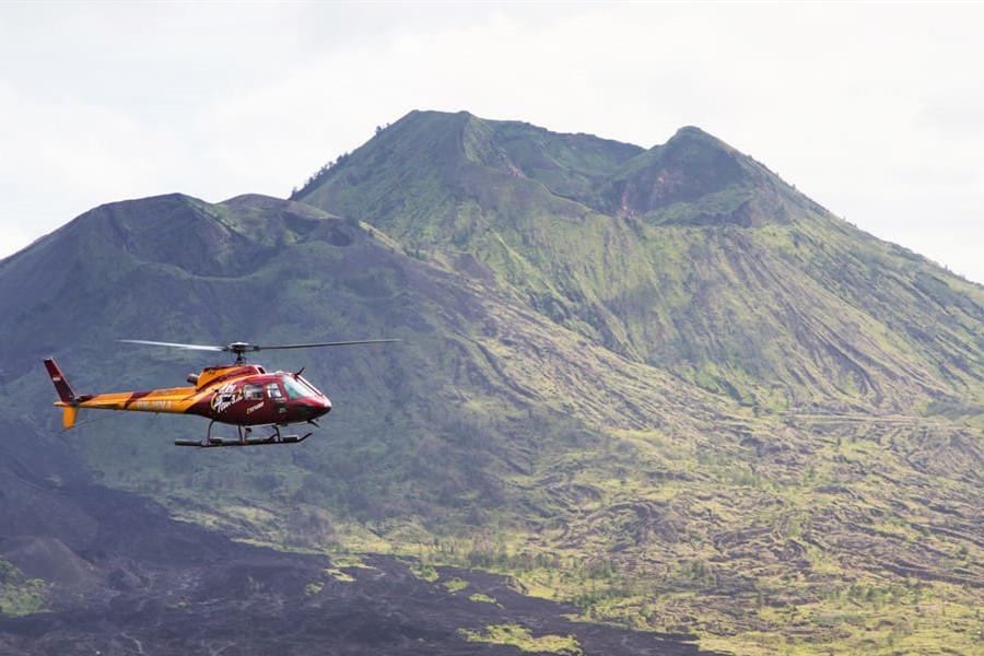 Heli Tour Bali | 55 minutes Kintamani Volcano Sky Tour