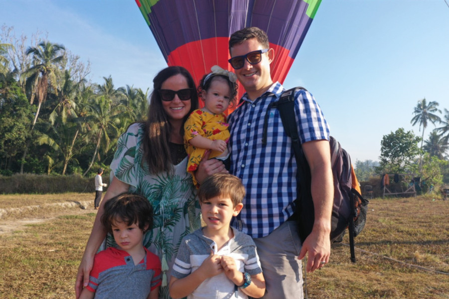Hot Air Balloon Bali Ubud
